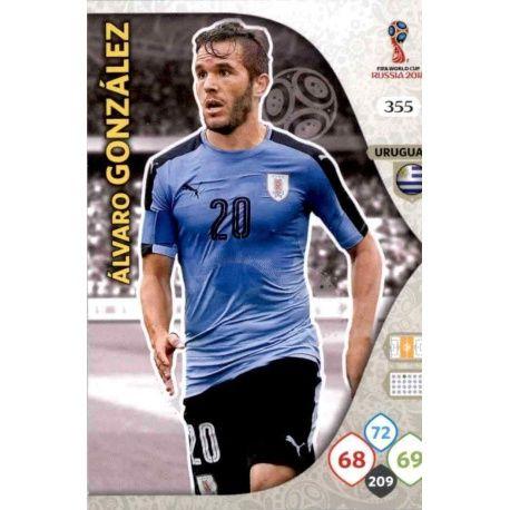 Álvaro González Uruguay 355 Adrenalyn XL World Cup 2018