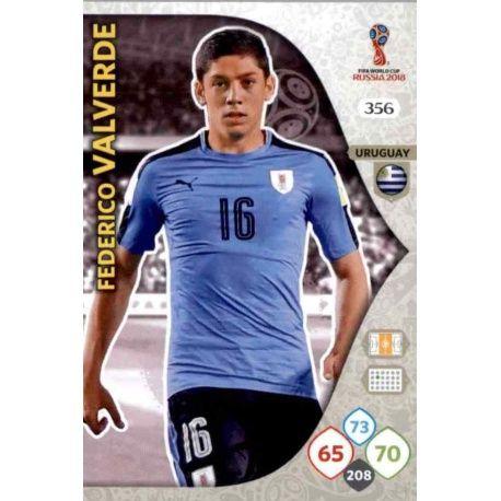 Federico Valverde Uruguay 356 Adrenalyn XL World Cup 2018