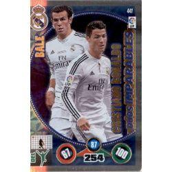 Bale Cristiano Ronaldo Dúos Imparables 441 Adrenalyn XL La Liga 2014-15