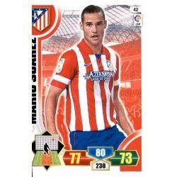 Mario Suárez Atlético Madrid 42