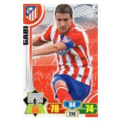 Gabi Atlético Madrid 43