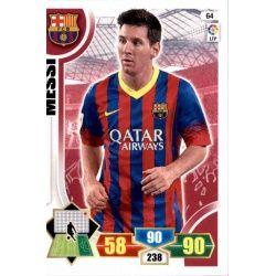 Messi Barcelona 64 Adrenalyn XL La Liga 2013-14