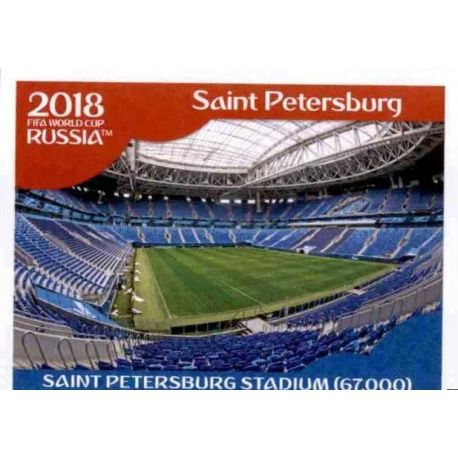 Saint Petersburg Stadium Stadiums 15 Stadiums