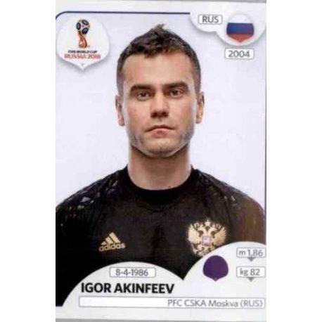 Igor Akinfeev Russia 34 Russia