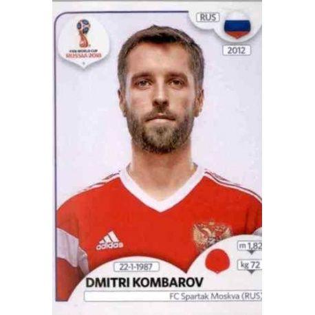 Dmitri Kombarov Russia 40 Russia