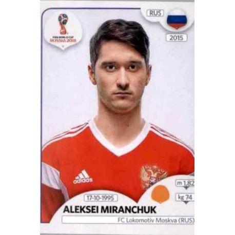 Aleksei Miranchuk Russia 41 Russia