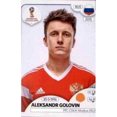 Aleksandr Golovin Russia 43 Russia