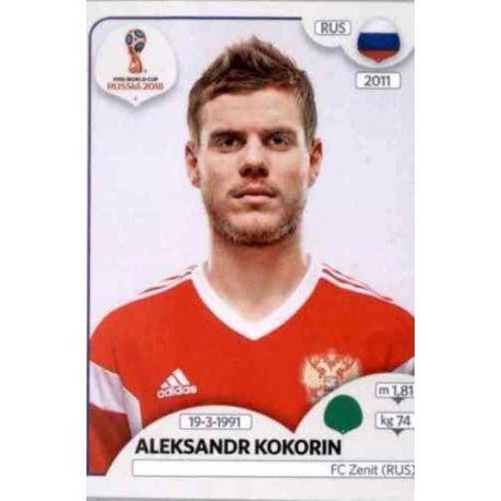 Aleksandr Kokorin Russia 51 Russia