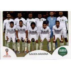 Alineación Arabia Saudí 53