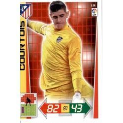 Courtois Atlético Madrid 19 Adrenalyn XL La Liga 2012-13