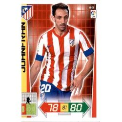 Juanfran Atlético Madrid 20 Adrenalyn XL La Liga 2012-13