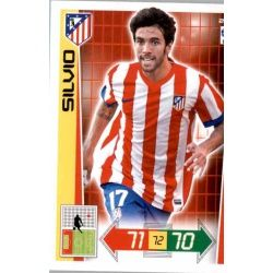 Silvio Atlético Madrid 21 Adrenalyn XL La Liga 2012-13