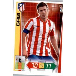 Gabi Atlético Madrid 26 Adrenalyn XL La Liga 2012-13