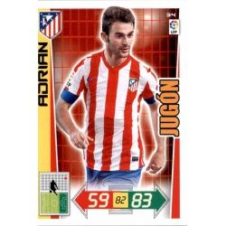 Adrián Atlético Madrid 34 Adrenalyn XL La Liga 2012-13