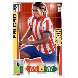 Falcao Atlético Madrid 35 Adrenalyn XL La Liga 2012-13