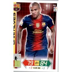 Dani Alves Barcelona 38 Adrenalyn XL La Liga 2012-13