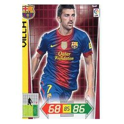 David Villa Barcelona 52 Adrenalyn XL La Liga 2012-13