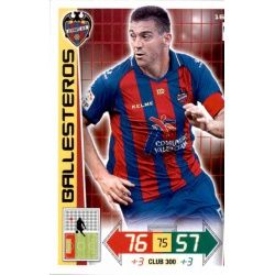 Ballesteros Levante 166 Adrenalyn XL La Liga 2012-13