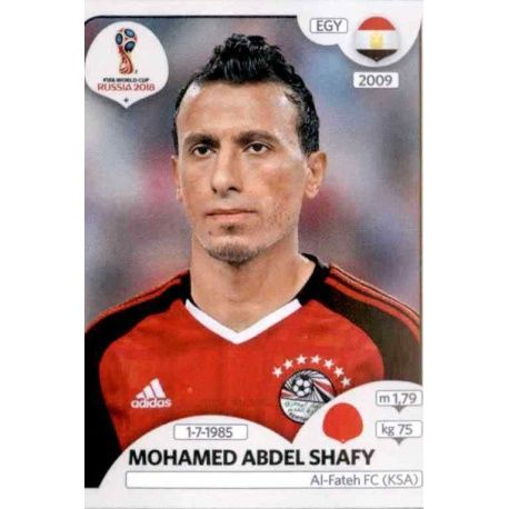 Mohamed Abdel Shafy Egipto 81 Egipto
