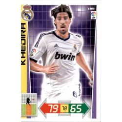 Khedira Real Madrid 189 Adrenalyn XL La Liga 2012-13