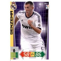 Benzema Real Madrid 197 Adrenalyn XL La Liga 2012-13