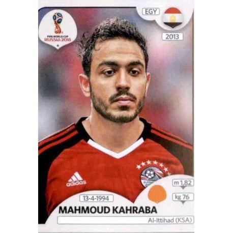 Ägypten Sticker 84 Mahmoud Kahraba Panini WM 2018 World Cup Russia