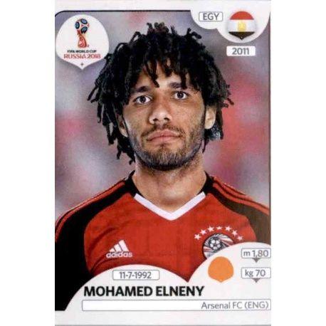 Mohamed Elneny Egipto 85 Egypt