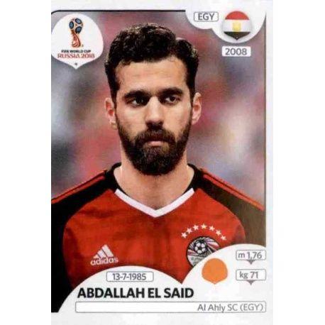 Sticker 80 Panini WM 2018 World Cup Russia Ägypten Ahmed Abdelmonem Fathy