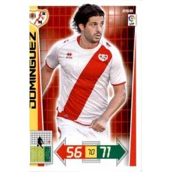 Domínguez Rayo Vallecano 268 Adrenalyn XL La Liga 2012-13