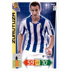 Zurutuza Real Sociedad 282 Adrenalyn XL La Liga 2012-13