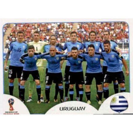 14c2f2f3f4c Sticker from Squad Uruguay 93 Panini World Cup Russia 2018
