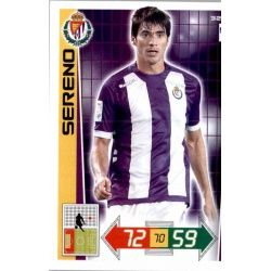 Sereno Valladolid 327 Adrenalyn XL La Liga 2012-13