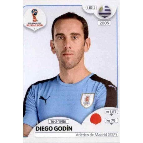 Diego Godín Uruguay 96 Uruguay