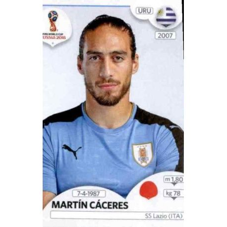 Martín Cáceres Uruguay 97 Uruguay