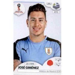 José Giménez Uruguay 98