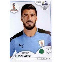 Luis Suárez Uruguay 109