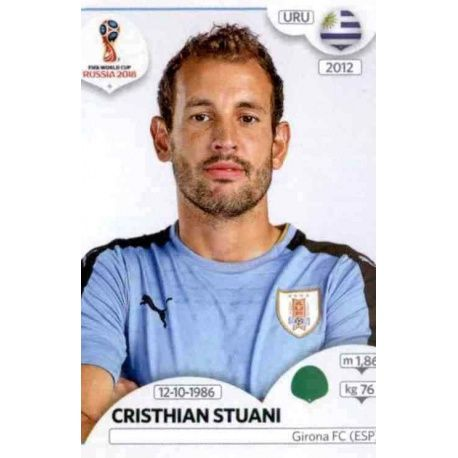 Cristhian Stuani Uruguay 110 Uruguay