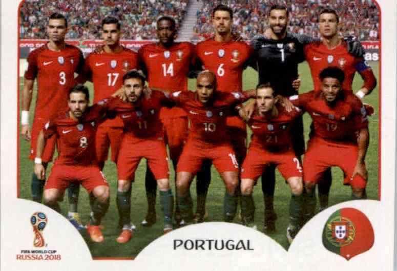 Sticker 125 André Gomes Panini WM 2018 World Cup Russia Portugal