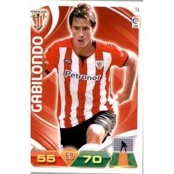 Gabilondo Athletic Club 14 Adrenalyn XL La Liga 2011-12