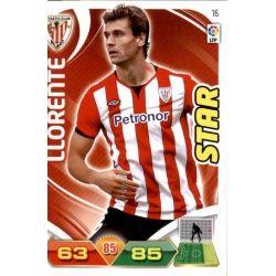 Llorente Athletic Club 16 Adrenalyn XL La Liga 2011-12