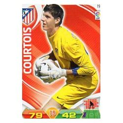 Courtois Atlético Madrid 19 Adrenalyn XL La Liga 2011-12