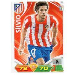 Sílvio Atlético Madrid 20 Adrenalyn XL La Liga 2011-12