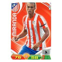 Miranda Atlético Madrid 22 Adrenalyn XL La Liga 2011-12