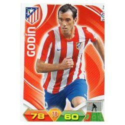 Godín Atlético Madrid 23 Adrenalyn XL La Liga 2011-12