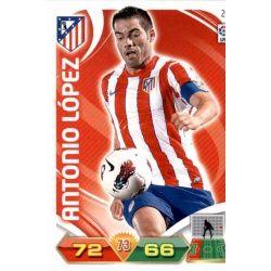 Antonio López Atlético Madrid 26 Adrenalyn XL La Liga 2011-12