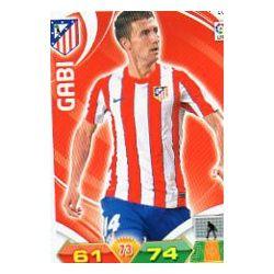 Gabi Atlético Madrid 28 Adrenalyn XL La Liga 2011-12