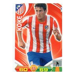 Koke Atlético Madrid 29 Adrenalyn XL La Liga 2011-12