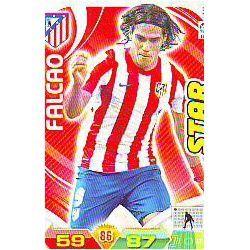 Falcao Atlético Madrid 35 Adrenalyn XL La Liga 2011-12
