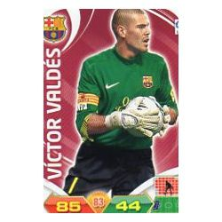Víctor Valdés Barcelona 37 Adrenalyn XL La Liga 2011-12