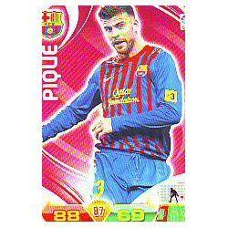 Piqué Barcelona 39 Adrenalyn XL La Liga 2011-12
